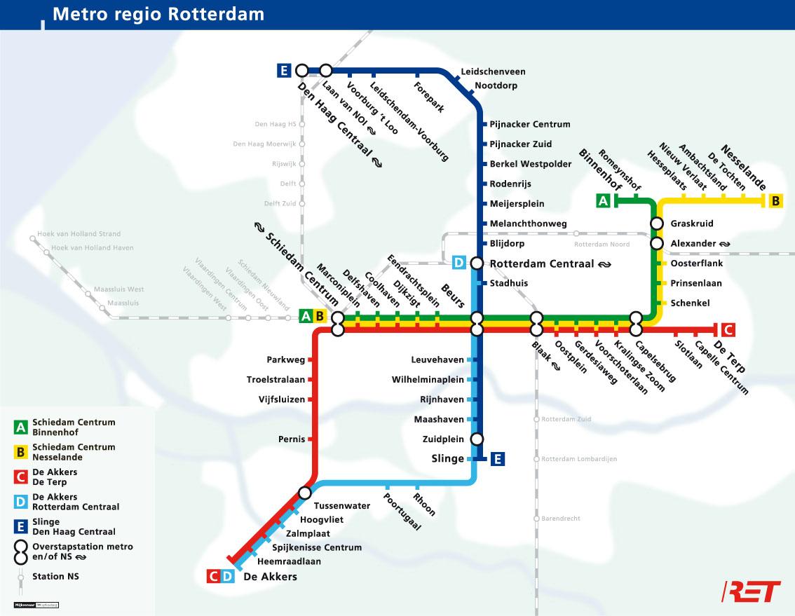 Metro_Lijnenkaart_RET